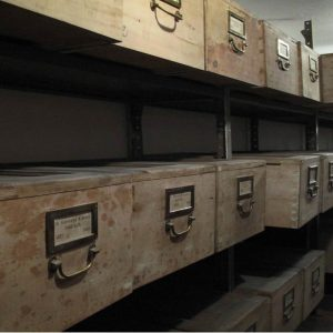 Old Method of charters´ storage
