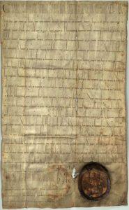 Urkunde Friedrich Barbarossas, NA ACK 1, 18.1.1158